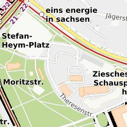 Stadtplan Chemnitz - Auskünfte der CVAG zu Linienverkehr ...